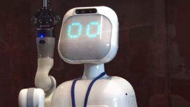 الروبوت دافنشي بالإمارات
