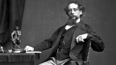الكاتب الإنجليزي تشارلز ديكينز